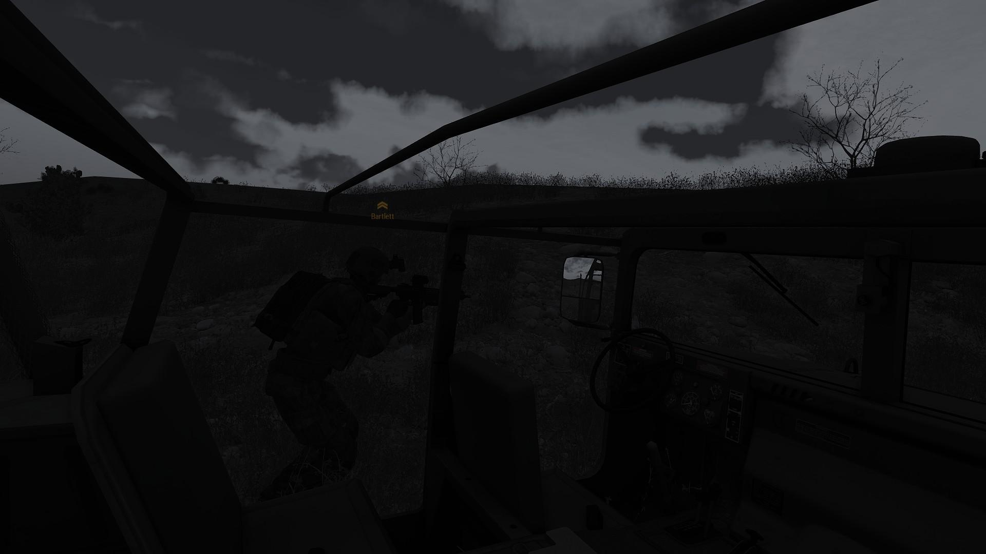 mso PTSD simulator 2017 aftermath of GL bombardment