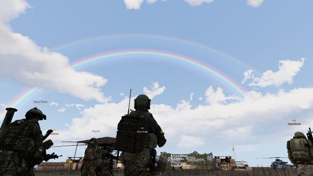 Double rainbow. wow