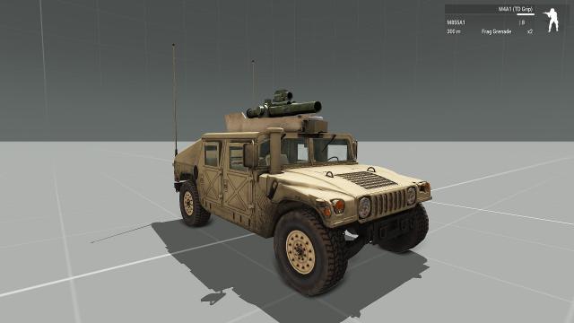 RHS TOW Humvee (custom)