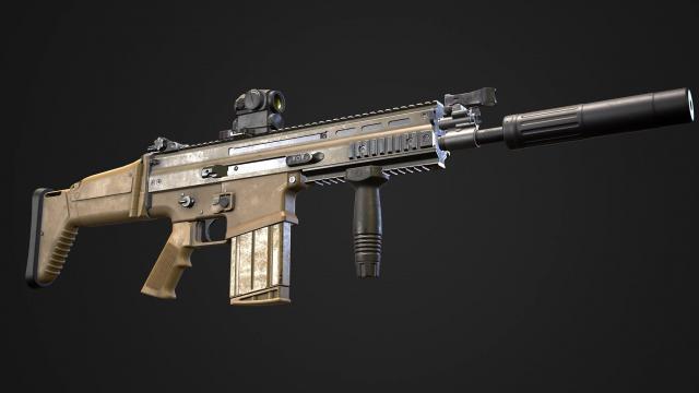 New RHS FN-SCAR