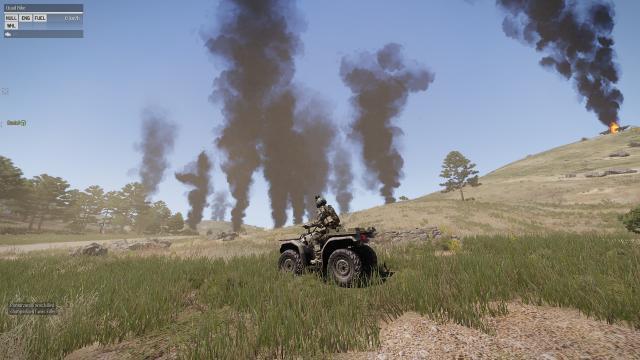 Tank Battle Aftermath