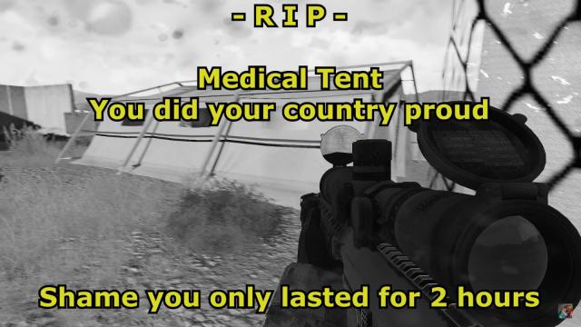 RIP Medical Tent MSO