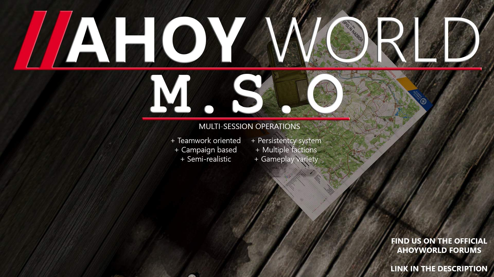 New MSO poster