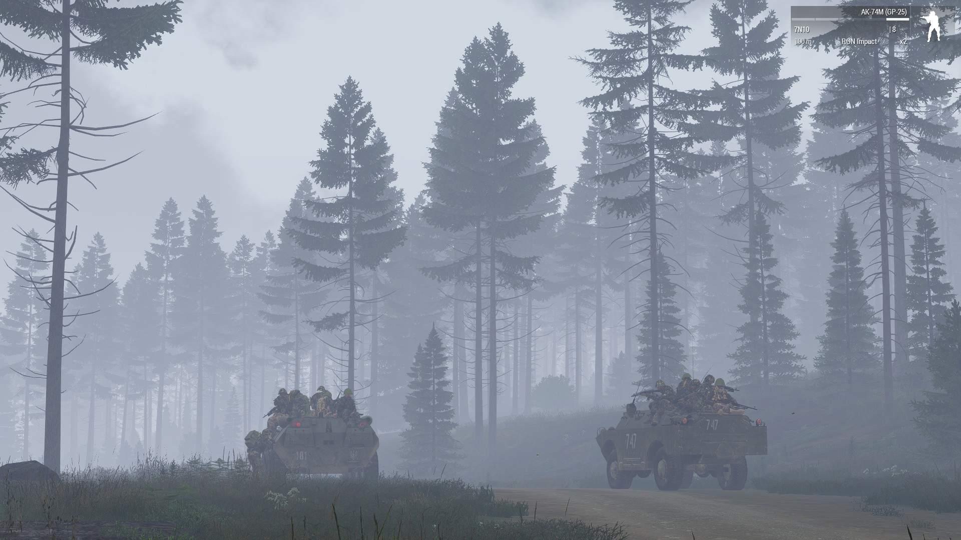 An eerie patrol